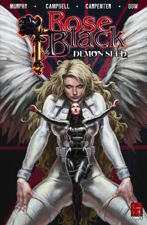 ROSE BLACK: DEMON SEED cover