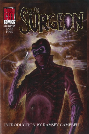 Surgeon comic issue 1 cover